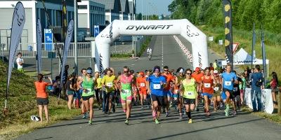 Bild zeigt eine Szene vom Dynafit Wake Up Run anlässlich der OutDoor Messe in Friedrichshafen 2015.