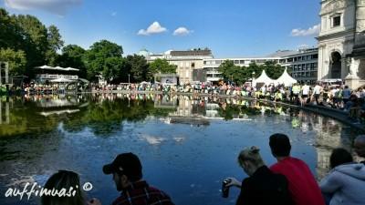 Super Stimmung im Eventbereich am Karlsplatz