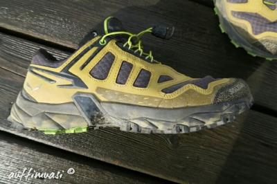 Das 3F System sorgt für Halt um Schuh.
