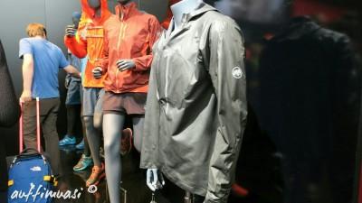 Die Mammut Bekleidungslinie mit der neuen Gore-Tex Jacke ganz vorne.