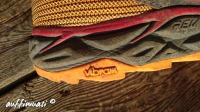 Vibram verspricht viel Grip.