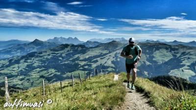 Laufen bis auf die Gipfel, das ist in Westendorf möglich.