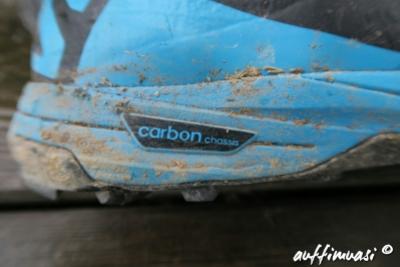 Carbon in der Zwischensohle.