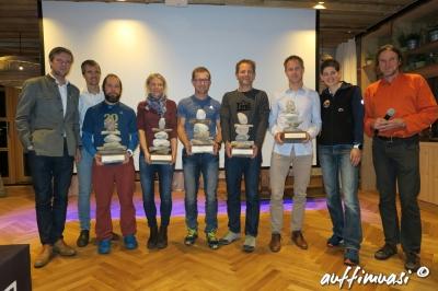 Die Sieger der verschiedenen Kategorien.